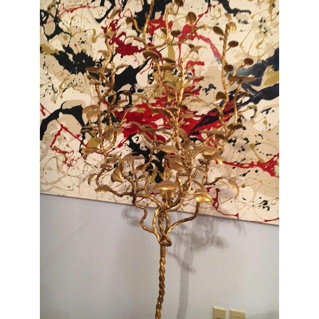 Large Floor Art Candelabra For Sale - Image 9 of 13