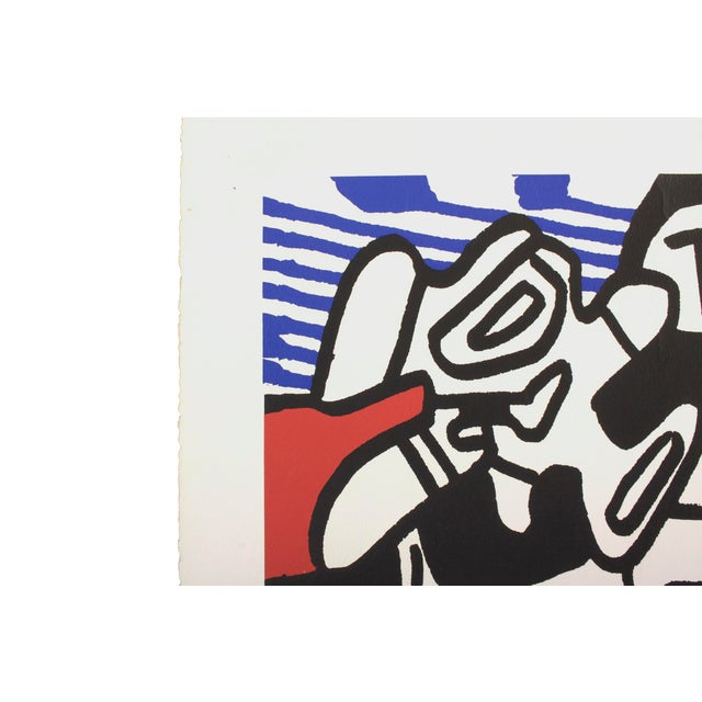 Jean DuBuffet Original Lithograph - Simulacres Pace Gallery New York For Sale - Image 4 of 10