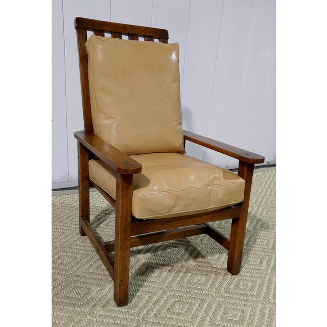 Rose Tarlow High Back Chair in Walnut Finish For Sale - Image 11 of 11