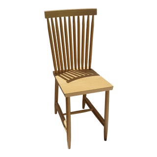 Design House Natural Beech Wood & Waterbased Matte Varnish Family Chair No. 2