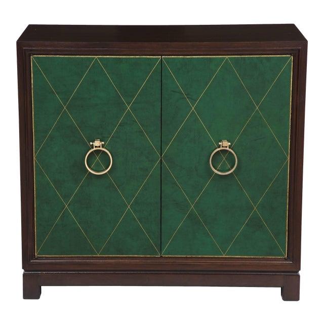 Tommi Parzinger Walnut Cabinet/Console For Sale