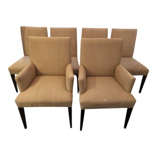Modern Dining Chairs by Crate & Barrel - Set of 6 For Sale