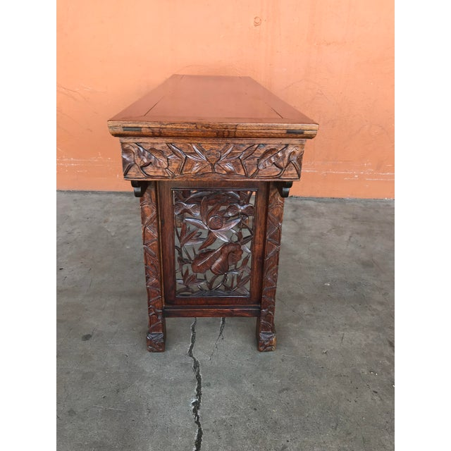 Late 20th Century Chinese Carved Altar Table For Sale - Image 5 of 10