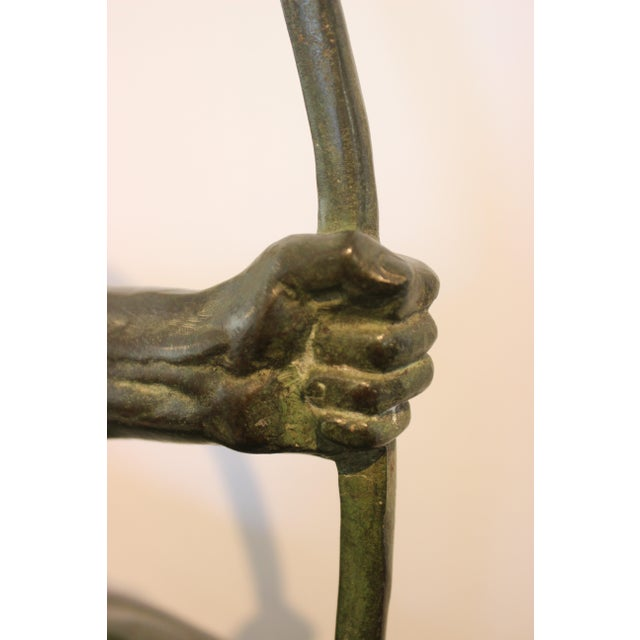 1920s Art Deco Bronze Sculpture Hercules the Archer by Victor Demanet 1925 For Sale - Image 5 of 13