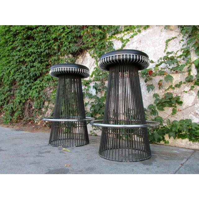 Mid-Century 1960's Knoll Platner Style Barstools - Image 3 of 4