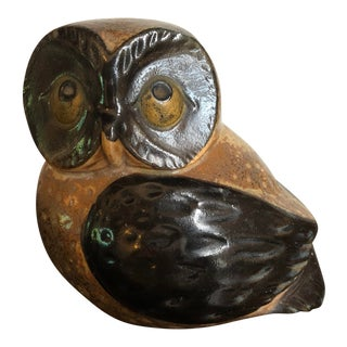 Mid-Century Otagiri Omc Retro Vintage Ceramic Owl For Sale