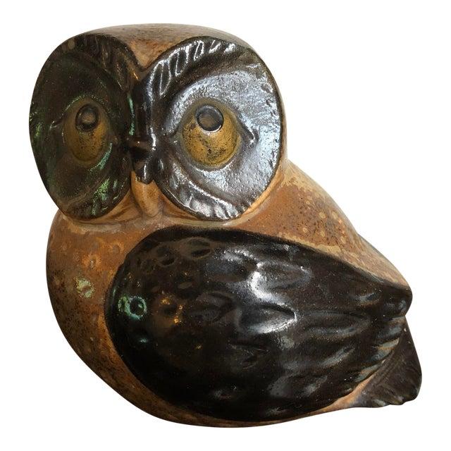 Mid-Century Otagiri Omc Retro Vintage Ceramic Owl For Sale