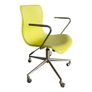 Modern CB2 Arne Jacobsen Style Oxford Chair For Sale