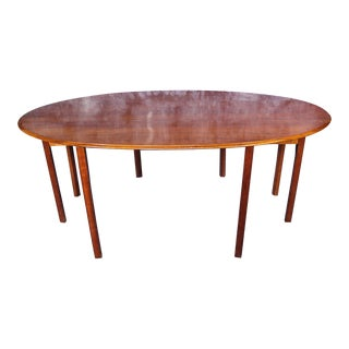 Wright Cherry Drop Leaf Dining Table For Sale