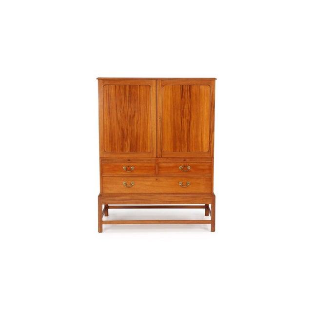 Kaare Klint Cabinet in Cuban Mahogany for Rud Rasmussen For Sale In Boston - Image 6 of 6