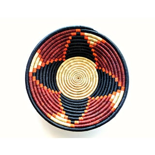 African Black Red Woven Baskets - Set of 3 Preview