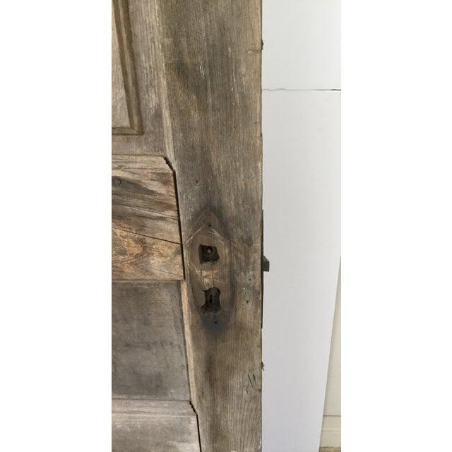 Antique Beveled Glass & Wooden Door - Image 7 of 10