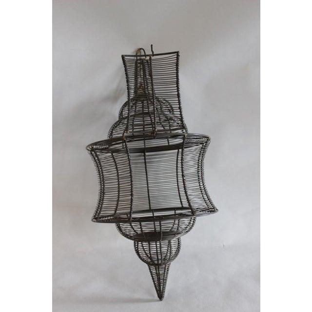 West Elm Pendant Candle Lantern - Image 3 of 8