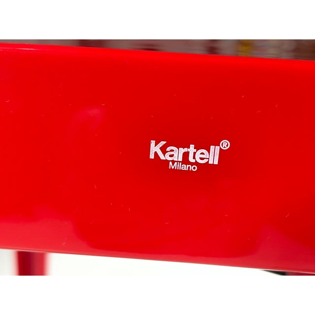 Victoria Ghost Red Chair Phillip Starck for Kartell For Sale In Miami - Image 6 of 8