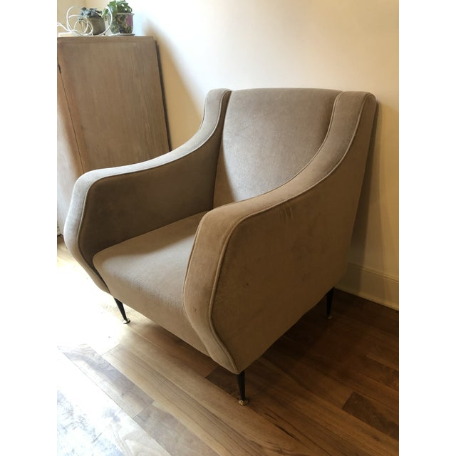 Mid Century Vintage Italian Lounge Chairs- a Pair For Sale - Image 4 of 7