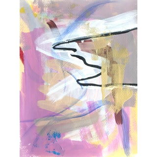 Pink and Lavender 2020 Contemporary Painting For Sale
