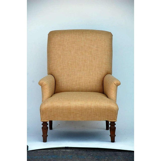 Brown Mid 19th Century Low Napoleon III Bergere For Sale - Image 8 of 8