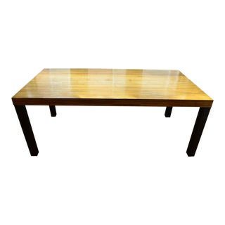 Bamboo Inlay Contemporary Table