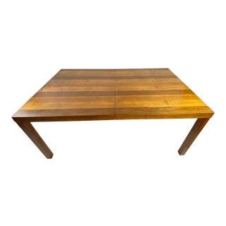 Danish Parsons Dining Table by Dyrlund Denmark Tri-Wood For Sale