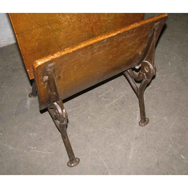Old School House Student Desk - Image 7 of 9