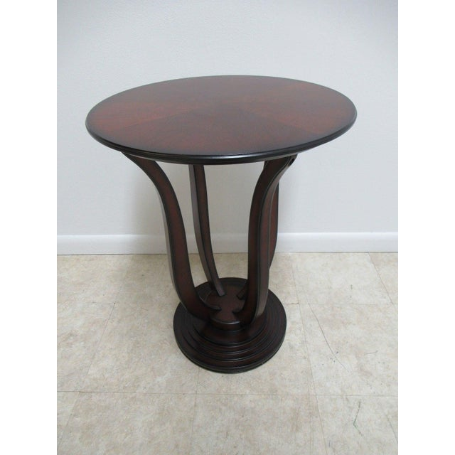Bombay Company Cherry End Table For Sale - Image 11 of 11