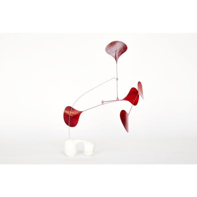 Abstract Zeno Contemporary Abstract Sculpture For Sale - Image 3 of 7