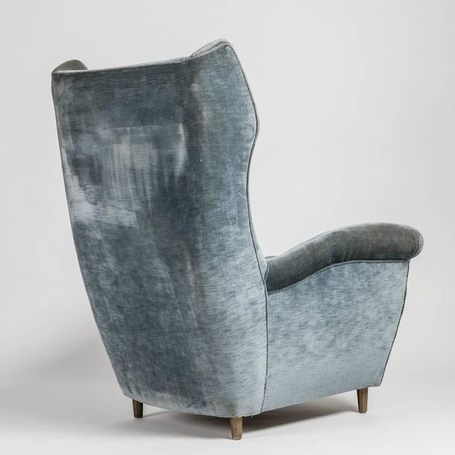 1950s Rare Pair of Italian 1950s Bergeres For Sale - Image 5 of 10