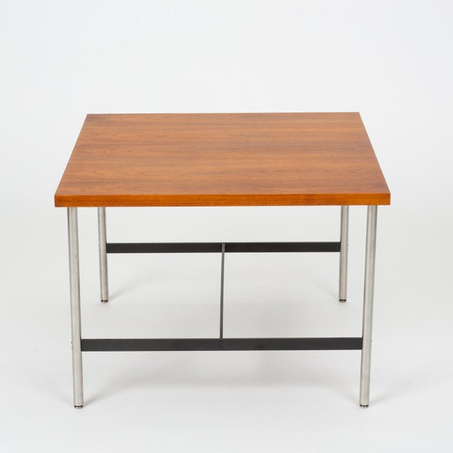 Metal Mid-Century Modern Walnut Children's Work Table by Herman Miller For Sale - Image 7 of 13