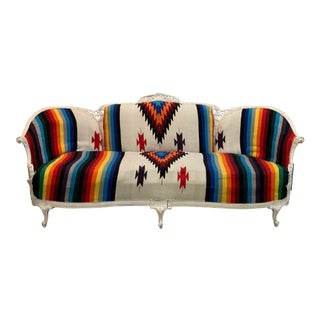 Antique Restored Southwestern Sofa For Sale