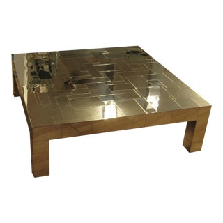 Paul Evans Cityscape Coffee Table For Sale