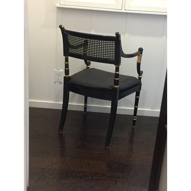 Baker Vintage Regency Style Armchair - Image 3 of 9