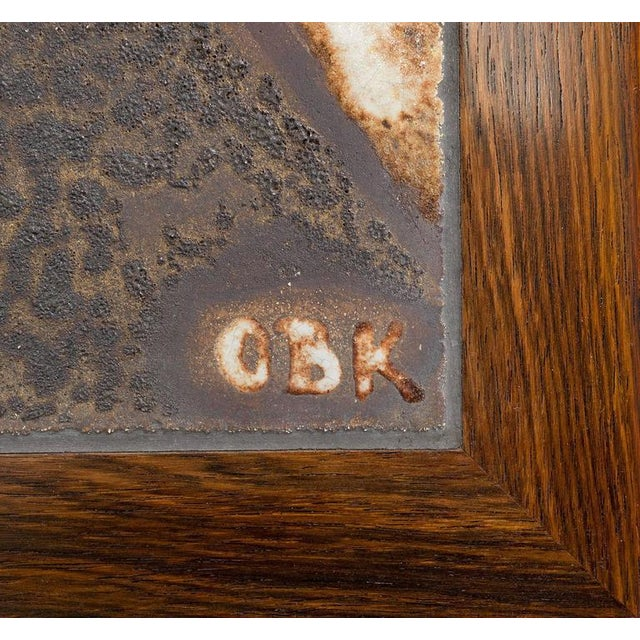 Danish Rosewood Abstract Tile Coffee Table - Image 10 of 10