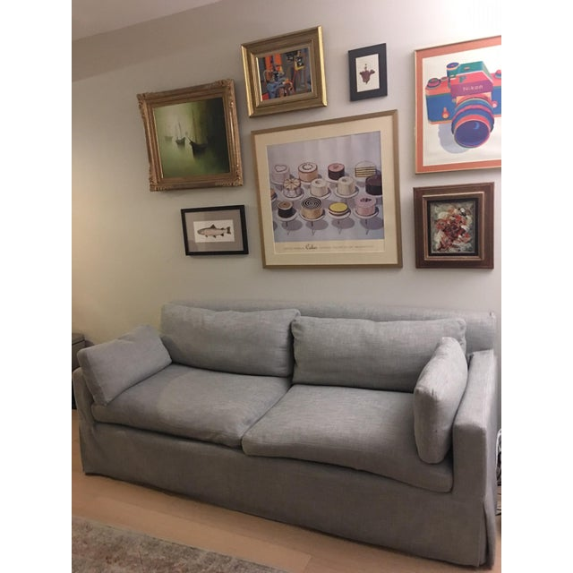 Restoration Hardware Belgian Track Arm Sofa - Image 2 of 4