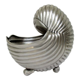 Silverplate Nautilus Cachepot For Sale