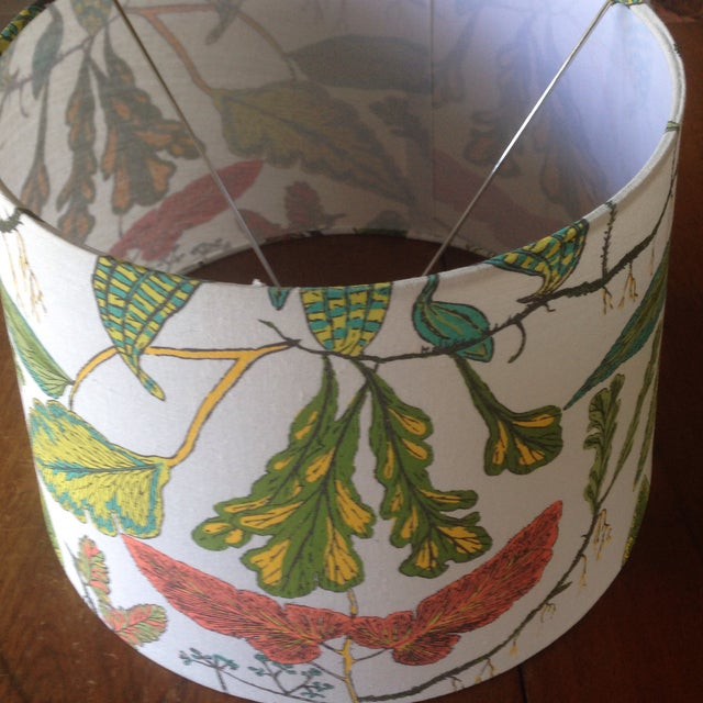 Vintage Botanical Print Lamp Shade For Sale - Image 10 of 11