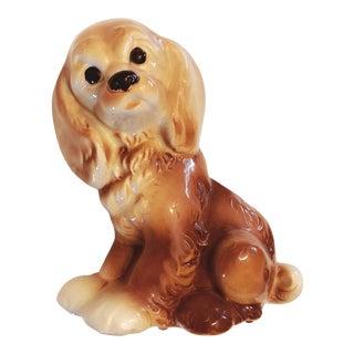 Ceramic Cocker Spaniel Dog Planter For Sale