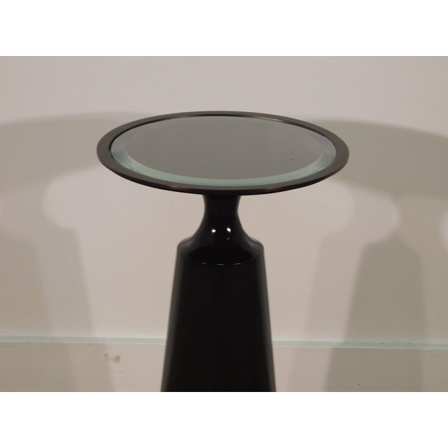 2010s Baker Furniture Company Virdine Round Accent Table For Sale - Image 5 of 7