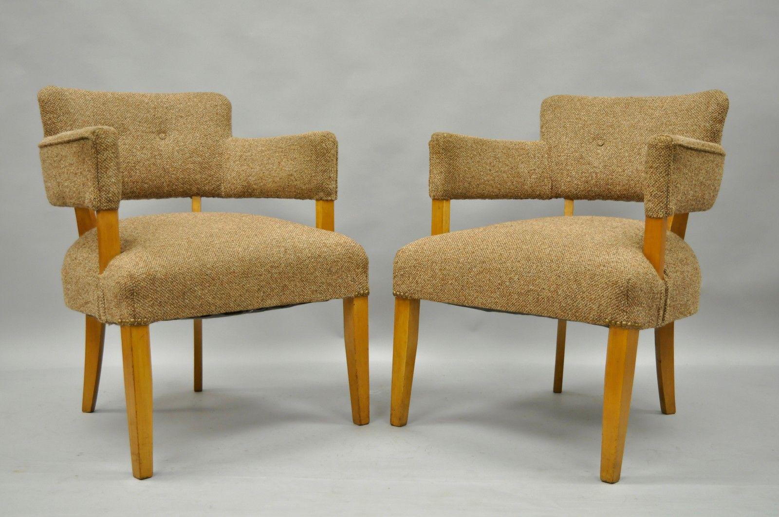 Jens Risom for Heywood Wakefield Mid-Century Modern Maple Club Lounge Chairs - a Pair  sc 1 st  Chairish & Jens Risom for Heywood Wakefield Mid-Century Modern Maple Club ...