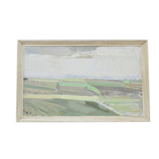 Landscape Painting by Svend Engelund ' 83 For Sale