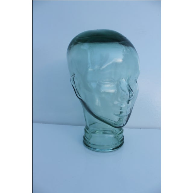 Molded Light Green Glass Head - Image 5 of 9