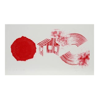 James Rosenquist, Hot Lake (2nd State), 1978
