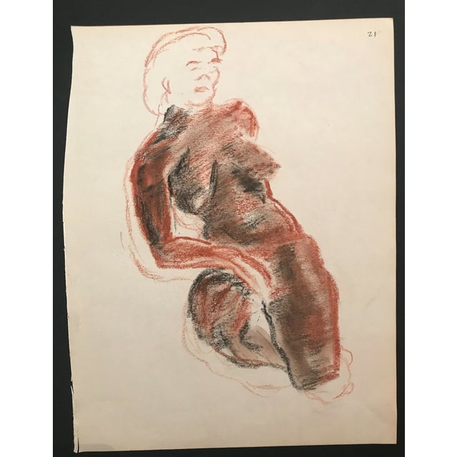Figurative Portrait of a Female Nude For Sale - Image 3 of 4