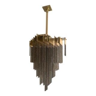 Featured in The 2020 San Francisco Decorator Showcase — Gabrielle Scott Chain Light Fixture For Sale