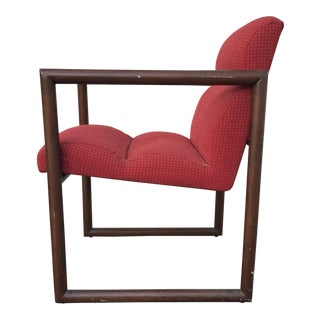 Red David Edward Chair For Sale