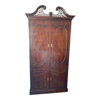 Claridge Collection Mahogany Armoire For Sale