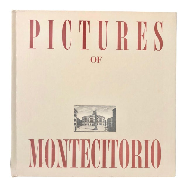 "1970 ""Pictures of Montecitorio"" Book, Italy For Sale"