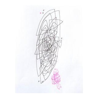 """Linda Colletta """"1987"""" Original Drawing"""
