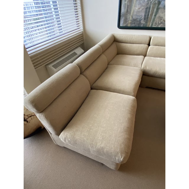 1970's Modular Sectional Sofa for Directional For Sale - Image 10 of 13