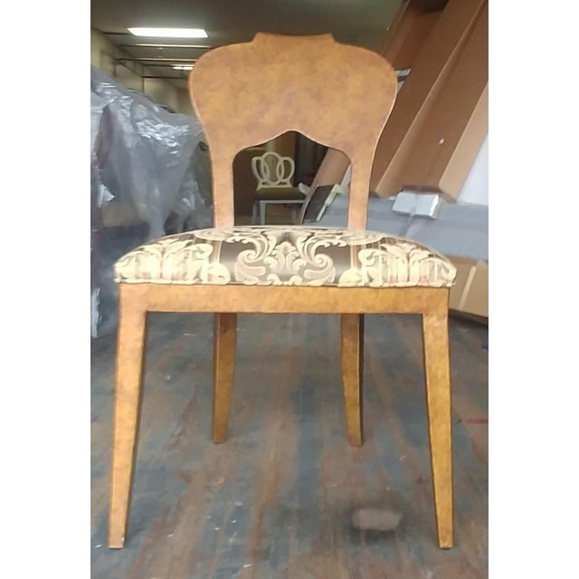 Henredon Furniture Arabesque Solid Antiqued Metal Ladies Desk Chair Sale includes one Chair as pictured. This listing is...
