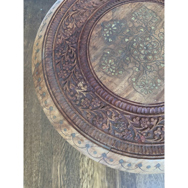 1960s Moroccan Octagonal Side Table For Sale - Image 5 of 7